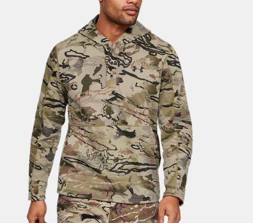 Under Armour アンダーアーマー UA Rut Fleece Hunting Hoodie ラット フリース ハンティング フーディ カモ Camo メンズ 取り寄せ商品