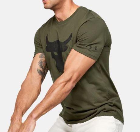 Under Armour アンダーアーマー Project Rock Brahma Bull Tshirt プロジェクト ロック ブル Tシャツ メンズ 取り寄せ商品