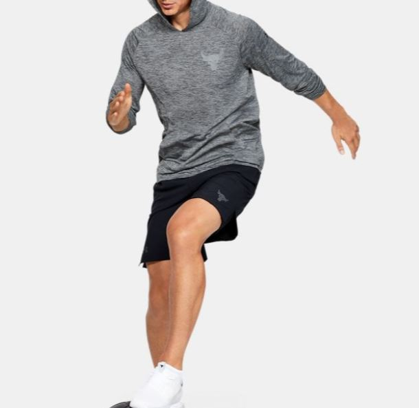 Under Armour アンダーアーマー Project Rock UA Tech 2.0 Hoodie Shirt プロジェクトロック テック フーディシャツ メンズ 取り寄せ商品 di