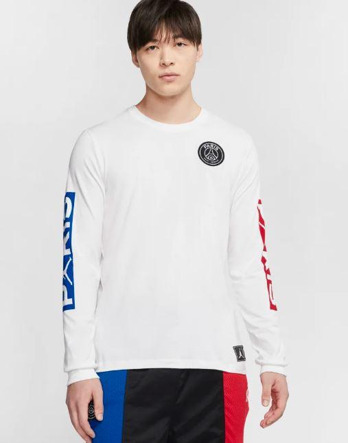 NIKE ナイキ Jordan Long-Sleeve T-Shirt PSG