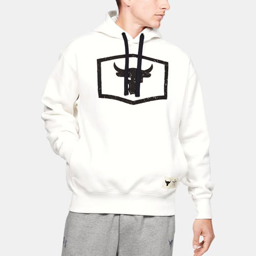 Under Armour アンダーアーマー Project Rock Warm-Up Hoodie プロジェクト ロック ワームアップ フーディ メンズ 取り寄せ商品