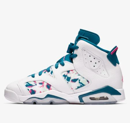 new style 8d444 ee2a7 NIKE Nike Air Jordan 6 Retro (GS) Air Jordan VI nostalgic basketball shoes  big kids order product az