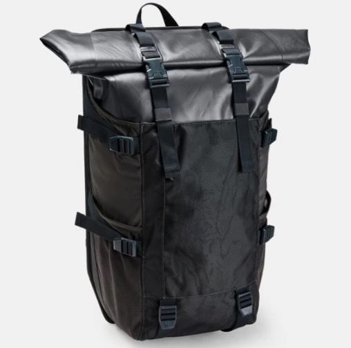 Under Armour アンダーアーマー UA Waterproof Rolltop Backpack Outdoor Bag ウォータープルーフ ロールトップ バックパック バッグ 取り寄せ商品