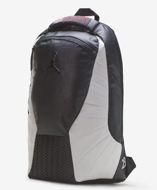 海外取寄せ メンズ レディース キッズ バスケットボール NIKE 限定特価 ナイキ Jordan Retro 12 レトロ リュック スポーツ ジョーダン バッグパック 12 取り寄せ商品 初売り バッグ 黒白 Backpack