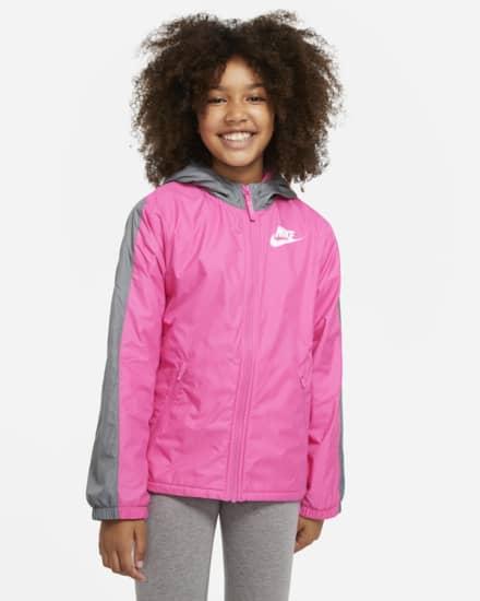 最新情報 NIKE ナイキ Sportswear Fleece-Lined Jacket スポーツウェア 裏フリース ジャケット キッズ 取り寄せ商品, 超歓迎 6db96adf