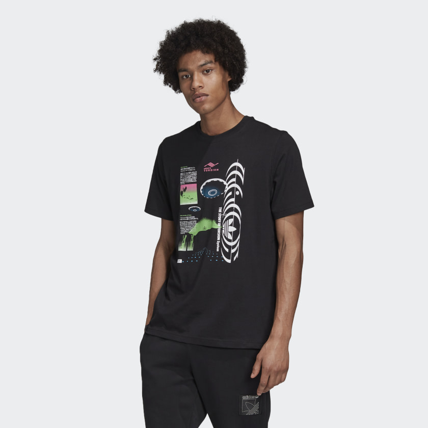 adidas Originals アディダスオリジナルス Torsion T-shirt トルション Tシャツ メンズ 取り寄せ商品