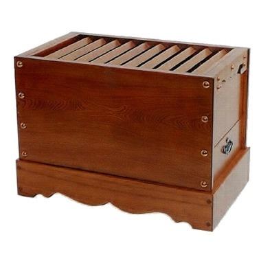 箱型賽銭箱 栓 2尺0寸