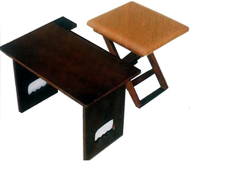 御詠歌用 折畳式 運べる机・椅子・収納バック付(梅花用机)≪送料無料≫