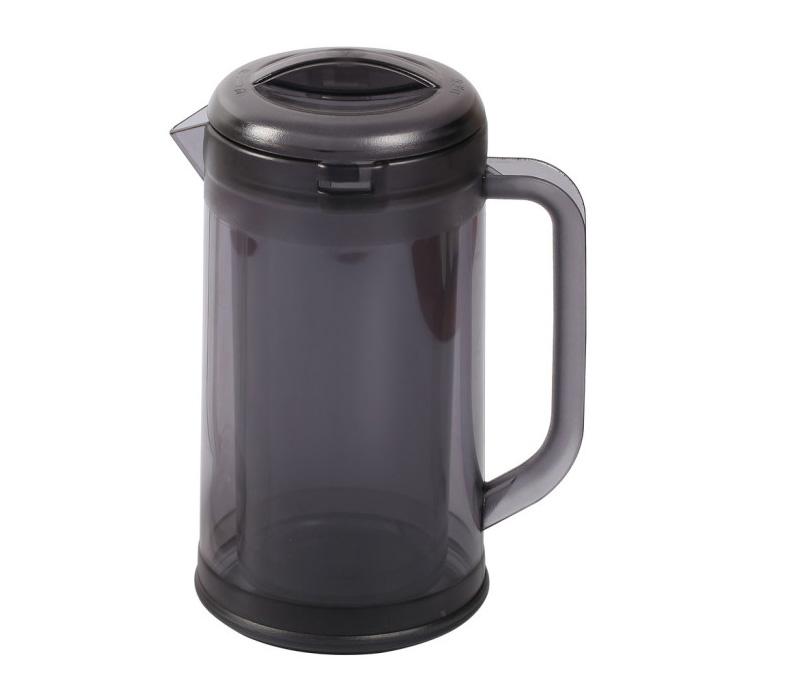 送料無料 沖縄 離島除く お店でもご家庭でも使える 結露が少なく 温度上昇しにくい 本格ノンウェットピッチャー 業務用 デュアル ウォーターピッチャー スモーク1.7L キッチン用品 食器 ドリンク ピッチャー ウォーターポット アイスコーヒー 卓上品 冷蔵庫 水差し テーブルウェア 卸売り 備品 麦茶 店舗 調理器具 当店は最高な サービスを提供します