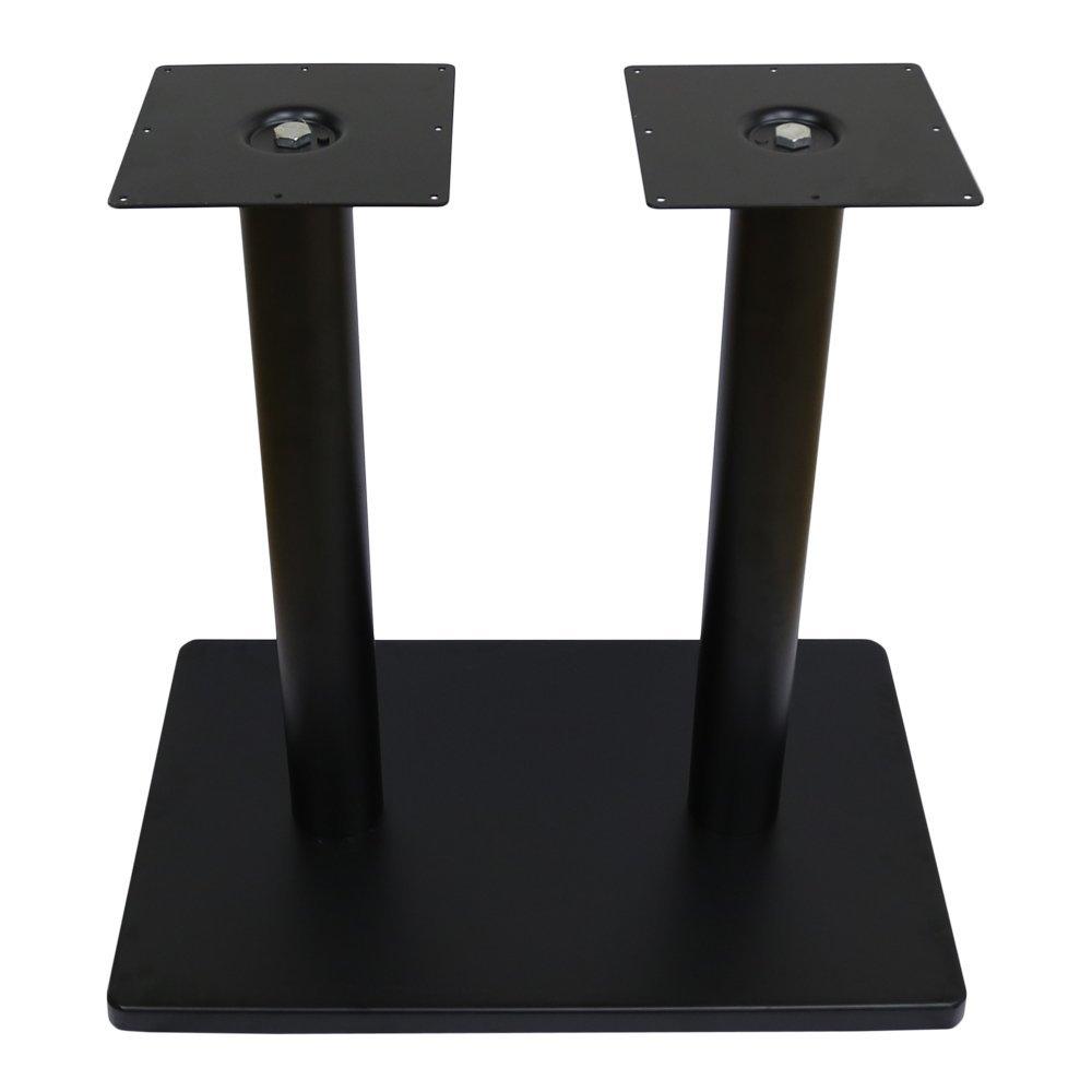 業務用 テーブルレッグ 組み立て式 テーブル用脚 セット ダブル 取り付け用ネジ付き _TBLG0002