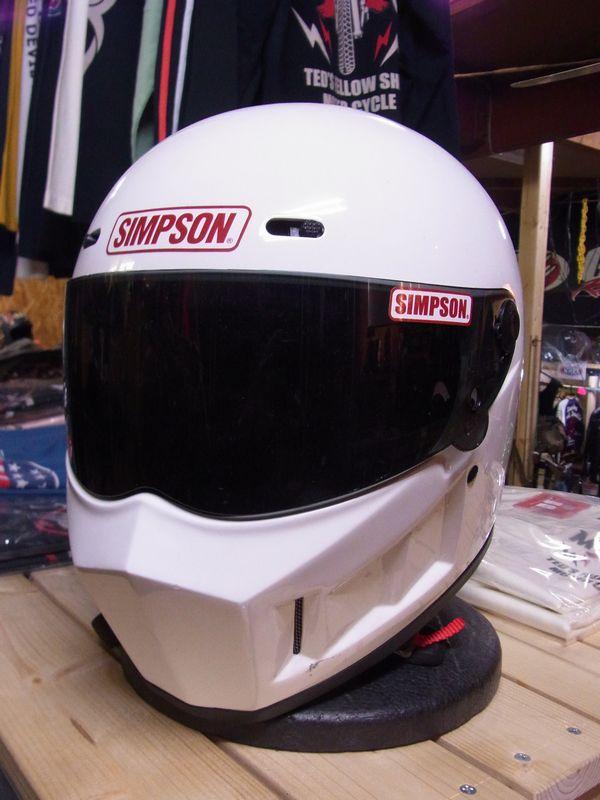シンプソンヘルメット スーパーバンディット13 《SIMPSON SB13》WH
