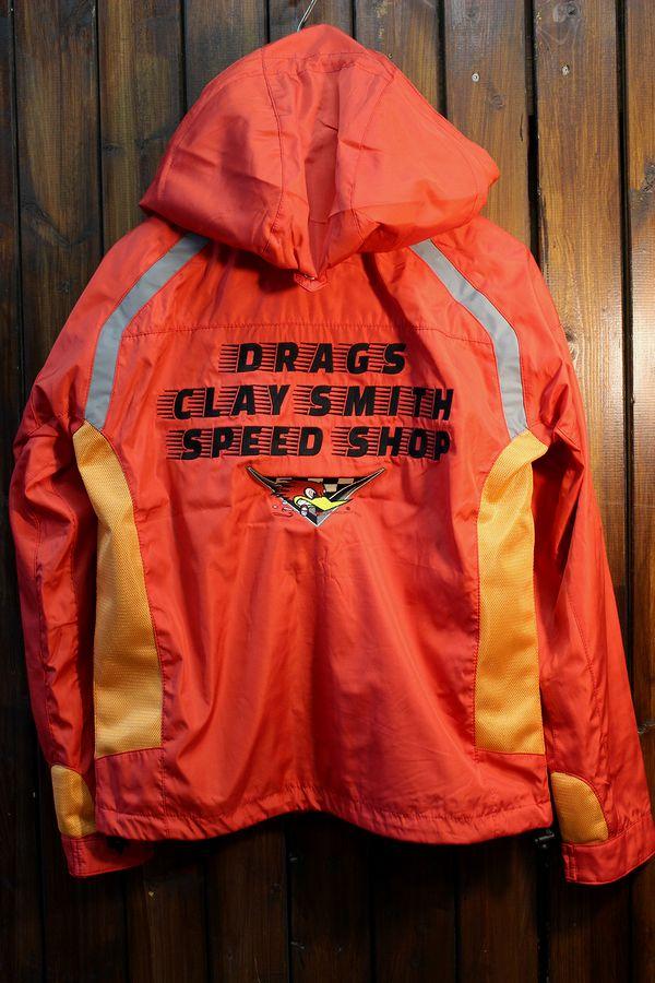 CLAY SMITH(クレイスミス) CSY-9405 BANG フーディージャケット レッド