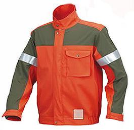 シンタロウ ニュー チェンソー作業用スーツ ブルゾン MT516 M L LL オレンジ カーキ