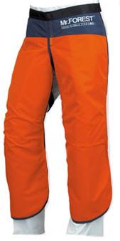 Mr.FOREST NEW ミスターフォレスト ニュー チェンソー作業用防具衣 チャップス MT536 M L LL オレンジ ネイビー オリーブ 緑