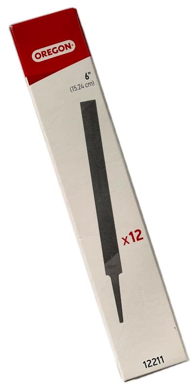 OREGON製 デプスゲージ調整用平ヤスリ マーケット 1ダース箱入り 正確に研磨 全長19.5cm 目立て 激安挑戦中 12211 メンテナンス用品 アクセサリー