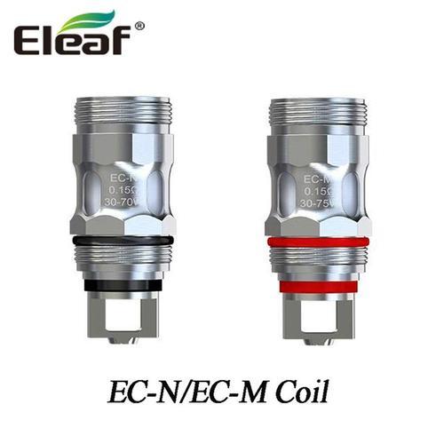 Eleaf EC-N EC-M コイル istick Pico X kit 開店記念セール 交換用コイル ECM 当店は最高な サービスを提供します ijust 電子タバコ 5個セット キット
