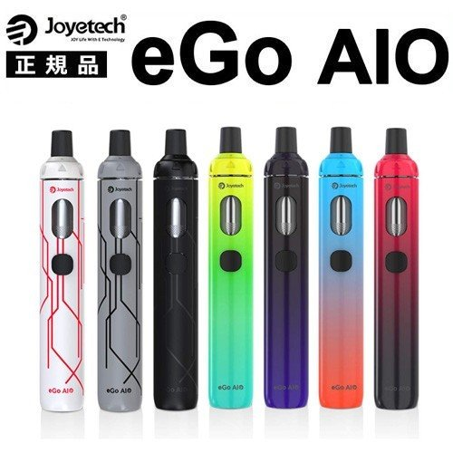Joyetech eGo AIO Kit エゴ アイオ アイテム勢ぞろい お得セット スターターキット 10th 電子タバコ Anniversary 日本語説明書付