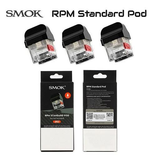 交換 ポッド スモック 定価の67%OFF アールピーエム RPM VAPE SMOK 交換POD Standard 電子タバコ 3個入り RPM40 爆安プライス or Nord