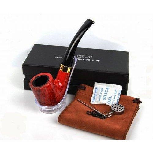 パイプ 刻みタバコ喫煙用 スターターキット ※アウトレット品 シガー たばこ 煙管 超激安特価 木目