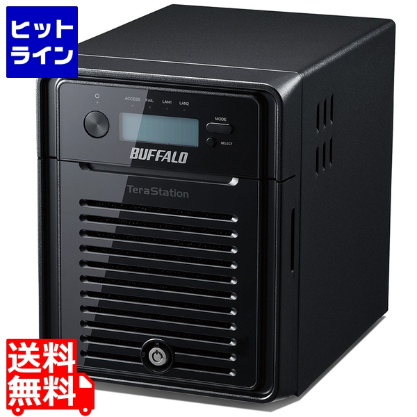 バッファロー ( BUFFALO ) TeraStation WSS HR Windows Storage Server 2016 Standard Edition搭載NAS 4TB WSH5411DN04S6