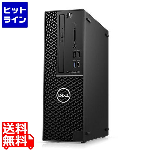 Precision Precision Tower 3431(Windows 10 Pro Workstations/16GB/Xeon E-2224G/256GB/P1000/3年保守/Officeなし) DTWS017-012N3