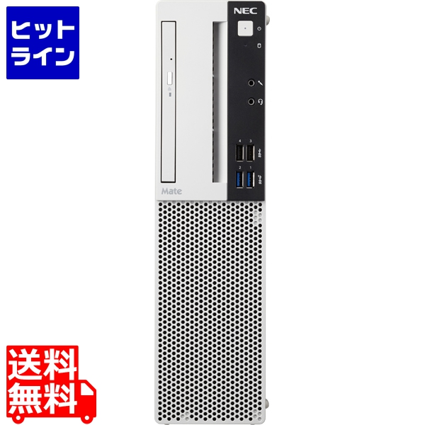 NEC ( NEC ) Mate タイプML (Core i3-8100 3.6GHz/4GB/500GB/ROM/Of Per16/Win10 Pro/リカバリ媒体/3年パーツ) PC-MKL36LZ6EAJ3