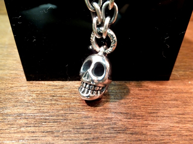 single skull necklace