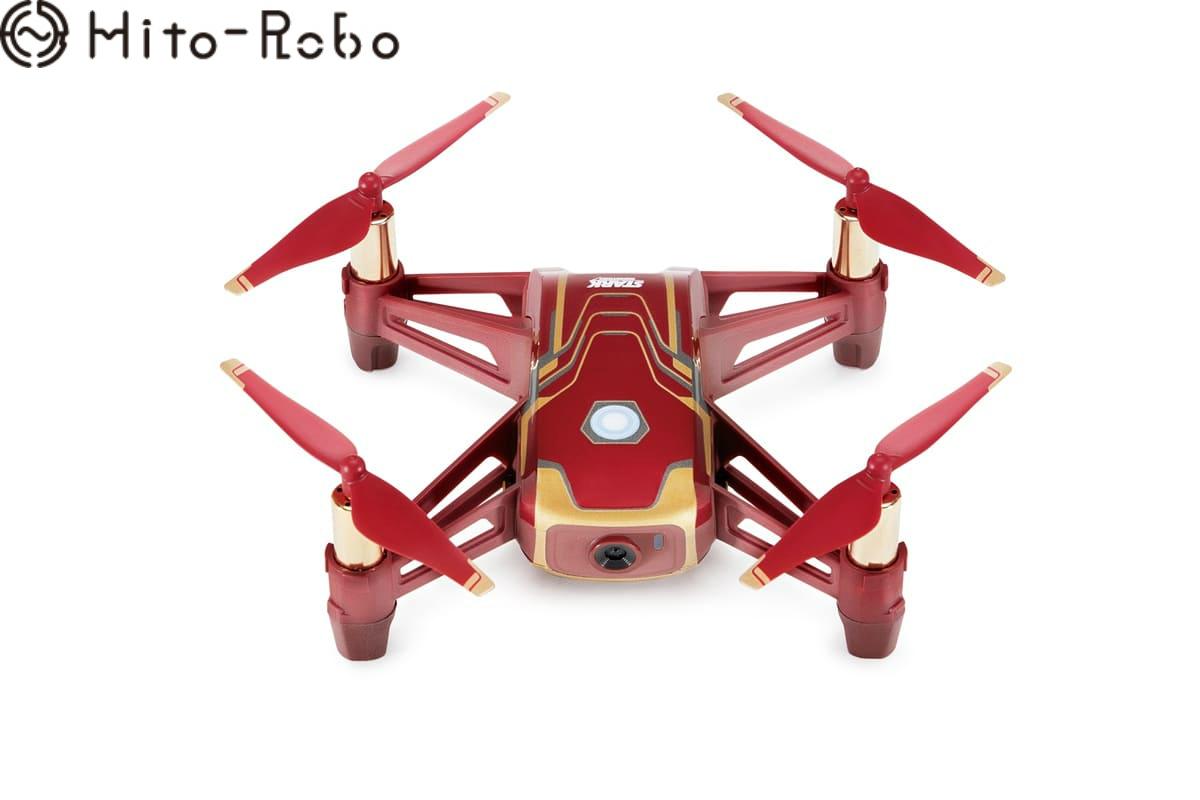 【期間限定 エントリーでポイント10倍+SPU】Tello Iron Man (テロー アイアンマン エディション) カメラ付き 小型 子供用 トイドローン HD動画 ドローン カメラ付き 初心者 スマホ 空撮 GPS drone