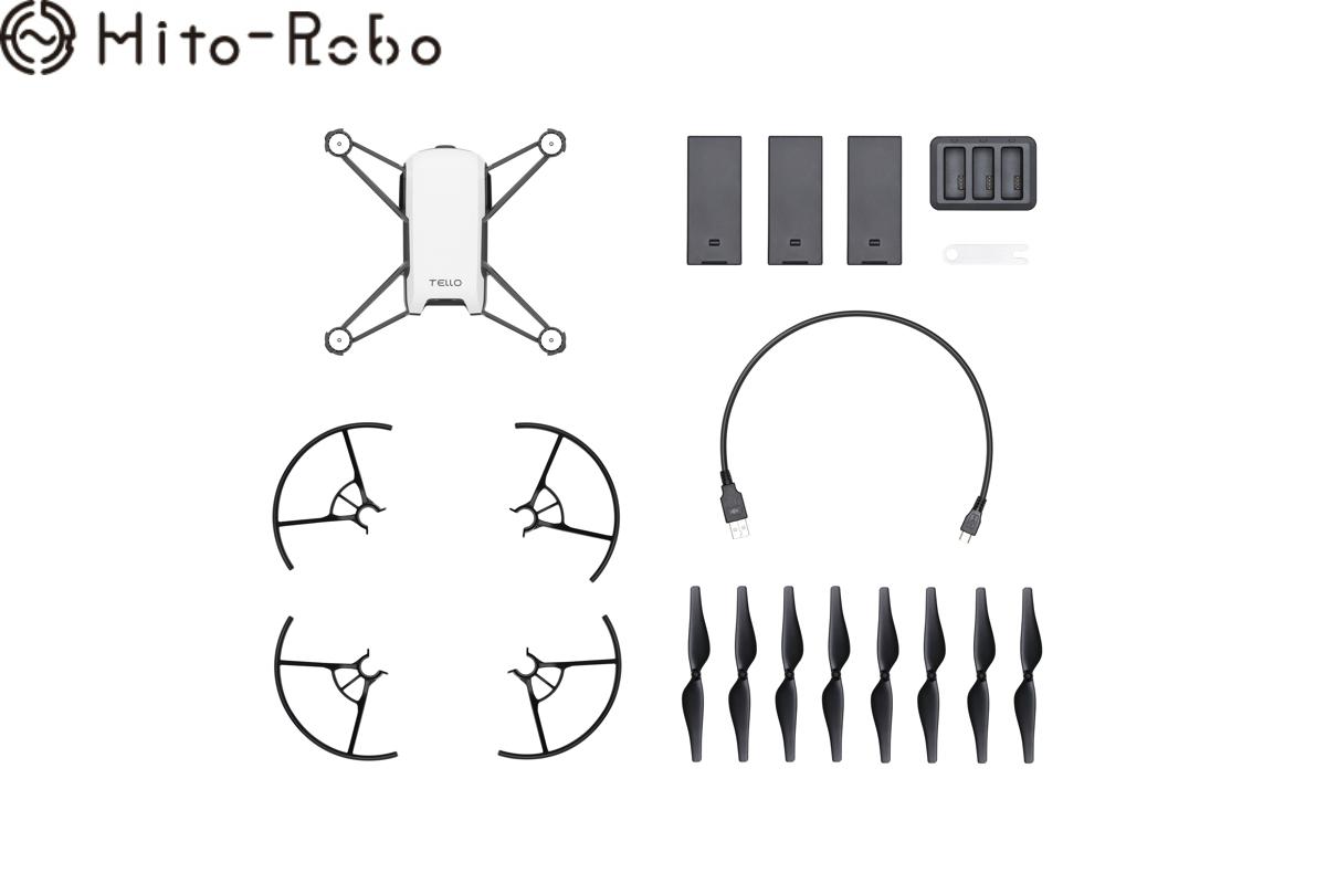 【期間限定 エントリーでポイント10倍+SPU】Tello Boost コンボ(テロー ブースト コンボ)+ GameSir T1d コントローラー(ゲームサー) ドローン カメラ付き