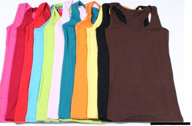 Tank top inner colorful summer