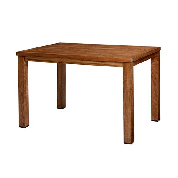 ダイニングテーブル 長方形 天然木 ミッドセンチュリー リベルタ 幅120cm