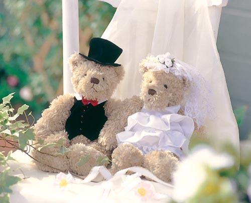 ちょっとリーズナブルなウェルカムベア 着後レビューで 送料無料 もこもこくたくたのウェディングベア 完成品 結婚式 あす楽 テレビで話題 結婚祝い ウェルカムドール