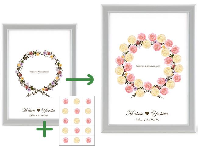 結婚式 メッセージ 画用紙 画像