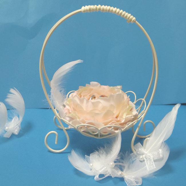 hitomishop | Rakuten Global Market: Server basket ring pillow flower ...
