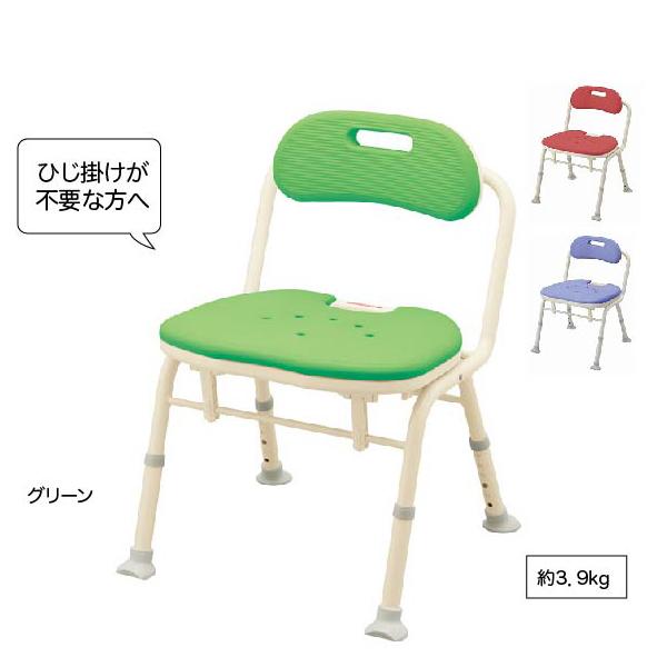 ひじ掛けなし 入浴いす折りたたみシャワーベンチIN-S(座面角型)シャワー椅子 お風呂用椅子 ふろイス 風呂イス