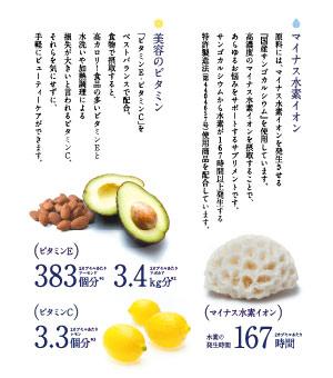 氢保健食品美肌美容健康维生素保健食品及川胤昭博士開発eijingukea