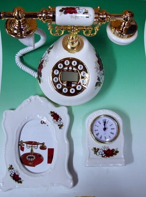 欧風電話set