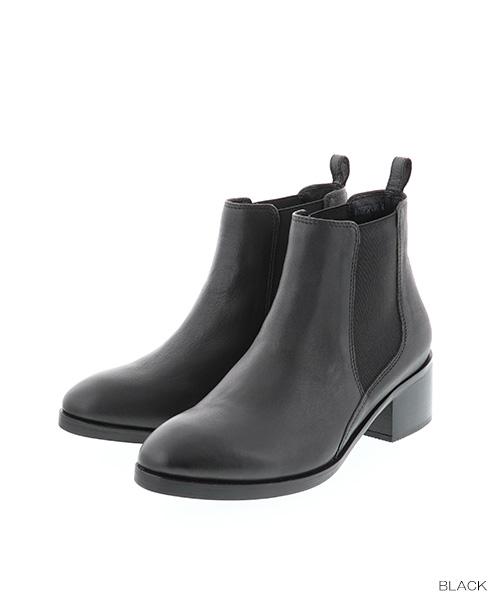 【50%OFF】【22.5cm~25.5cm】RANDA/本革/レザーサイドゴアブーツ/KC7574/M9▲△【18AW】【boots】