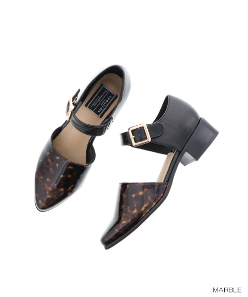 RANDA | Rakuten Global Market: CAMILLE BIS RANDA/ one strap separate shoes /CS5617/N1▲△