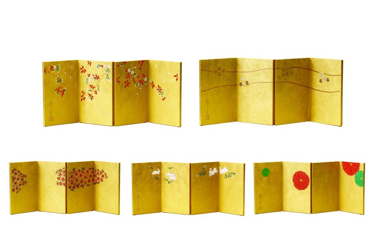 金屏風 11号サイズ【雛人形 】【ひな人形 】【人気】【smtb-m】H3-BYO-K11
