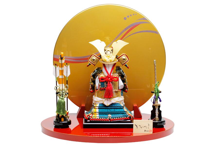 奉納鎧 泰 H5-HY-0001-05HT【新作】【五月人形 コンパクト】 【五月人形 鎧飾り】 【5月人形】【人気】【小さい】【送料無料】奉納鎧
