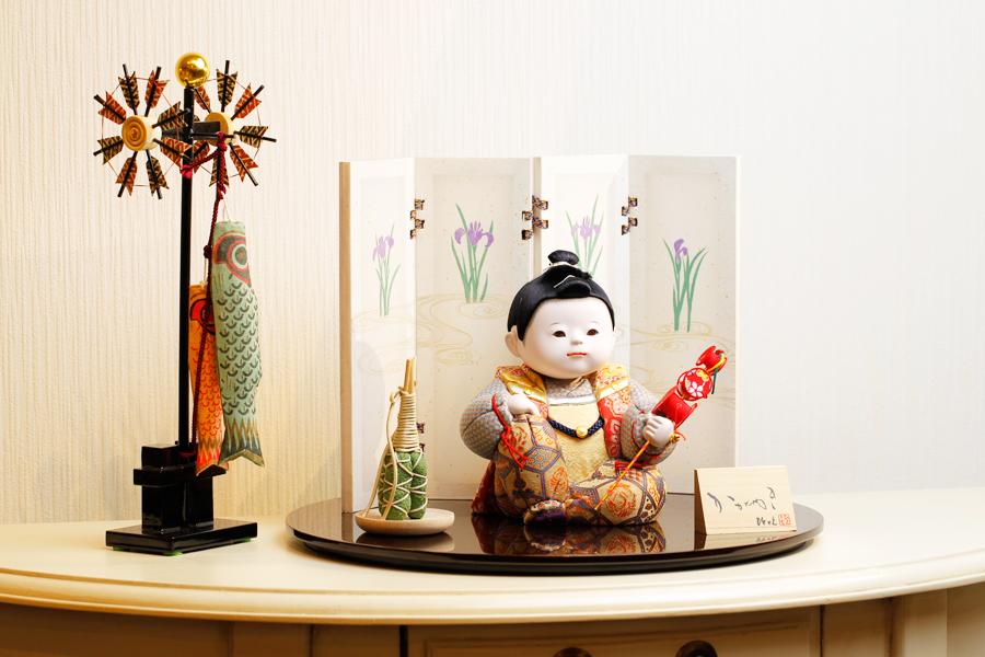 【新作】【五月人形 コンパクト】 【五月人形 童飾り】 【木目込み】 【5月人形】【人気】【小さい】【送料無料】五月人形 童飾り 秀 IO-0003-03C
