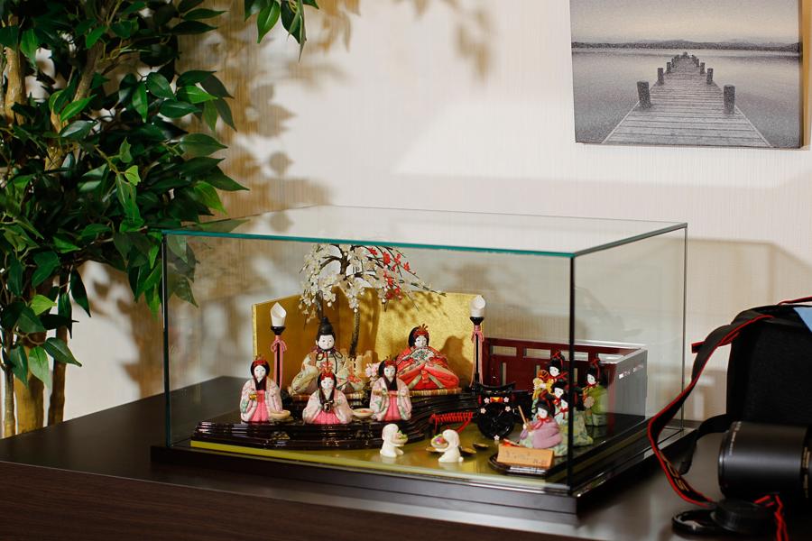 花 - はな - ケ-ス付十人飾り 11JN-003JK-2