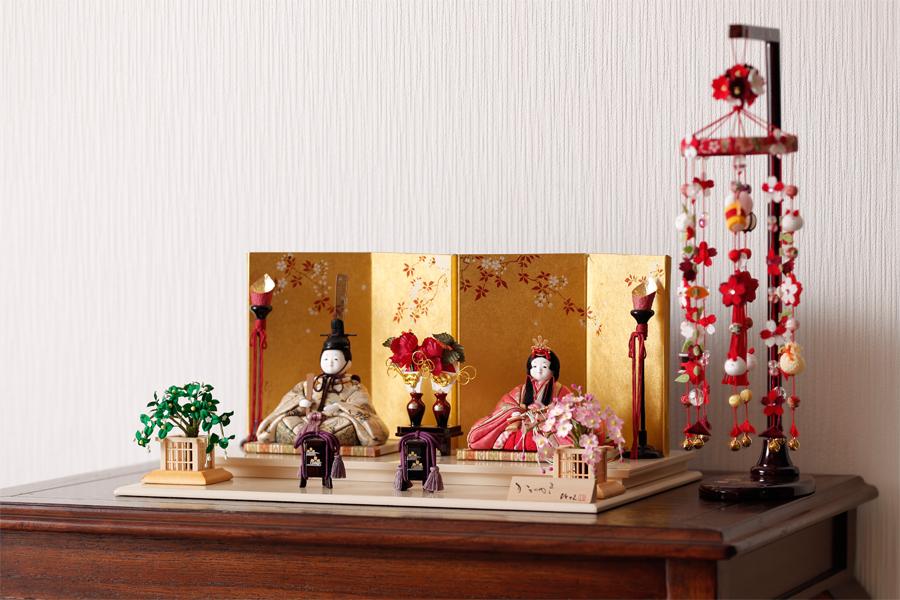 雛人形 月 - つき - 親王飾り 12SN-001A