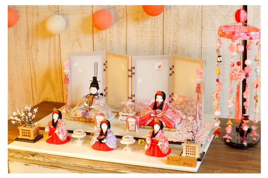 雪 - ゆき - 五人飾り 12GN-031