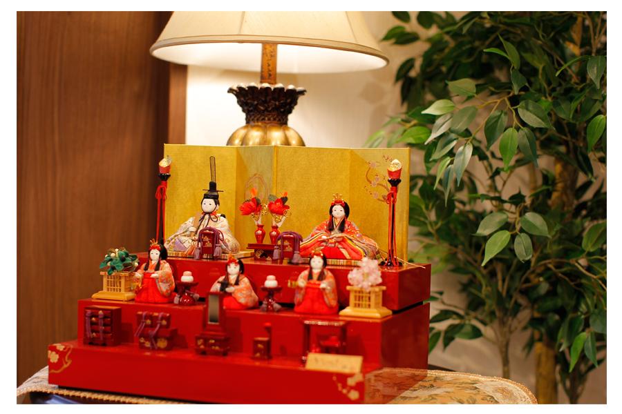 星 - ほし - 収納五人飾り 12GN-033-MW