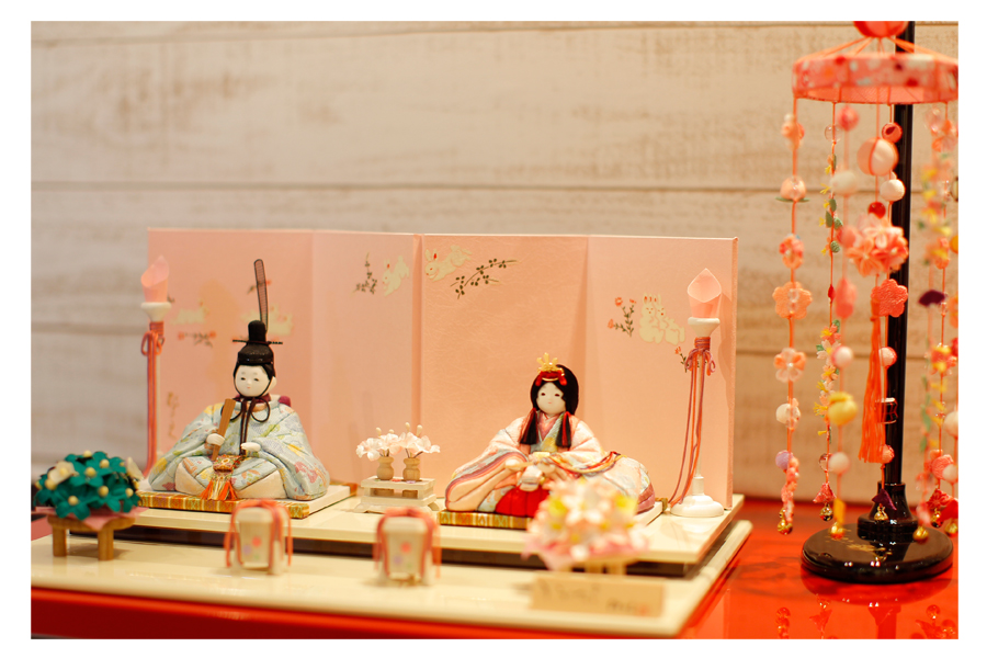 杏 - あん - 親王飾り 12SN-035