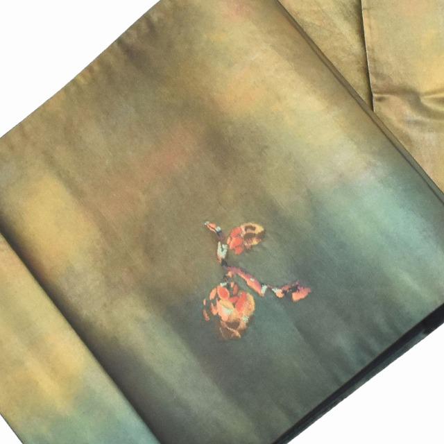 【中古】 リサイクル / 袋帯 / 仕立て上がり / リサイクル帯 / 正絹 / 結婚式 / 錦織 / 緑系 ll2284b015 【着物ひととき】