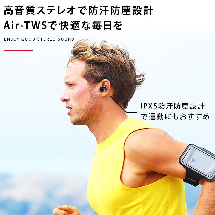 It is waterproofed headset light weight for wireless earphone bluetooth  hands-free call Bluetooth earphone both ears one ear iphone android