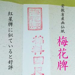 梅花牌 (半切) 単宣 【100枚入】 10反セット  漢字用